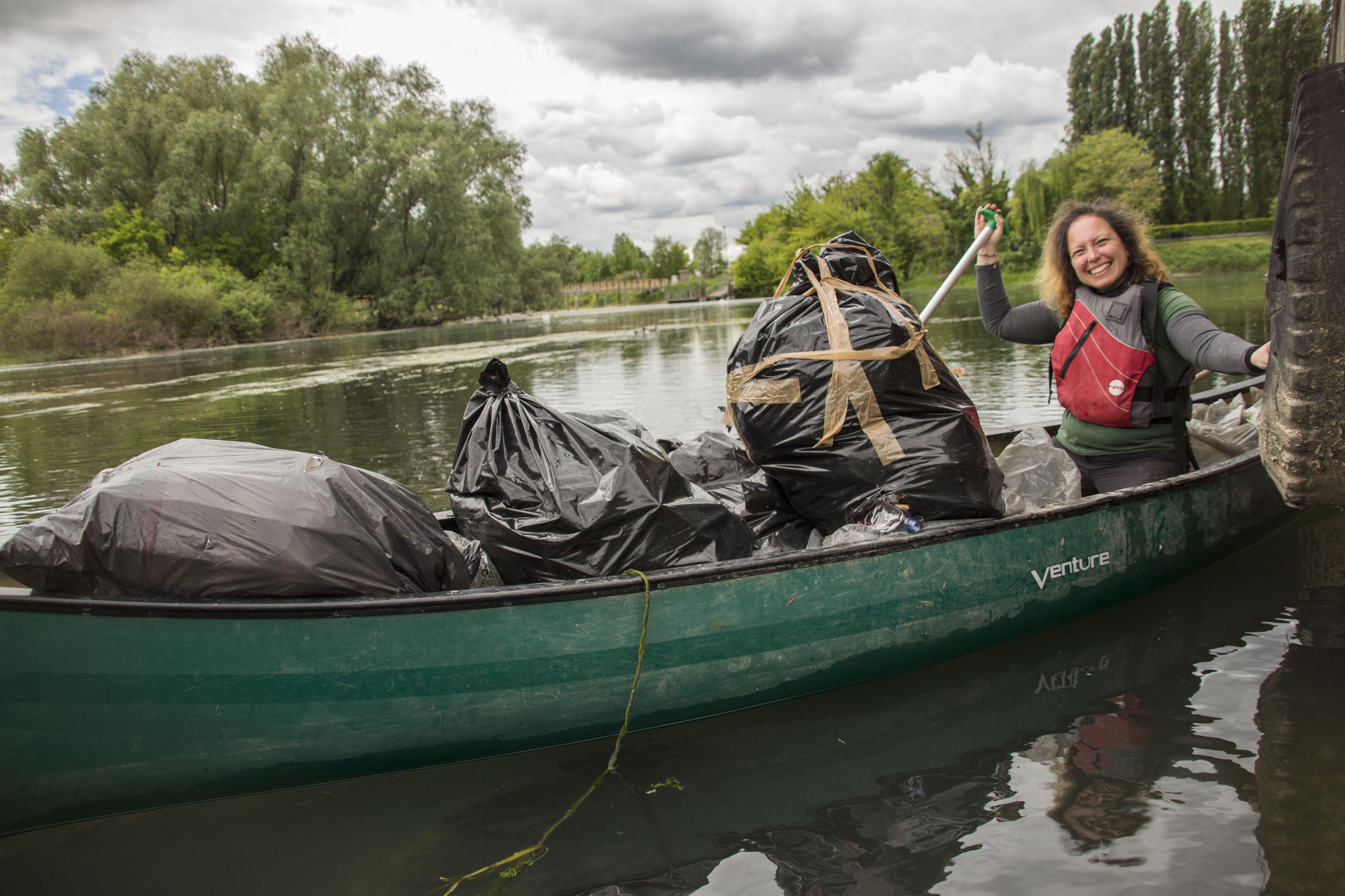 progetto raccolta rifiuti fiume sile_ open canoe open mind- contarina